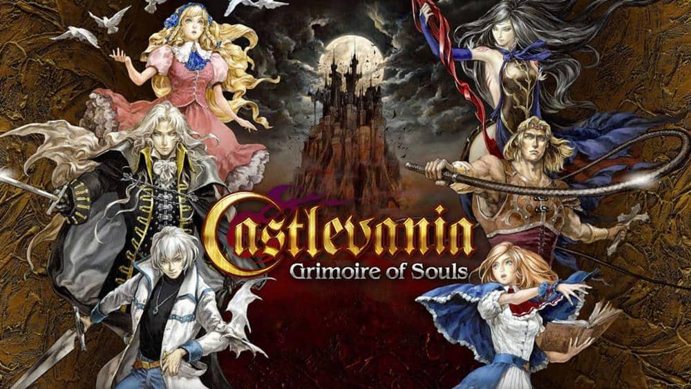Castlevania-Grimoire-of-Souls Castlevania Grimoire of Souls  - APK vaza na internet