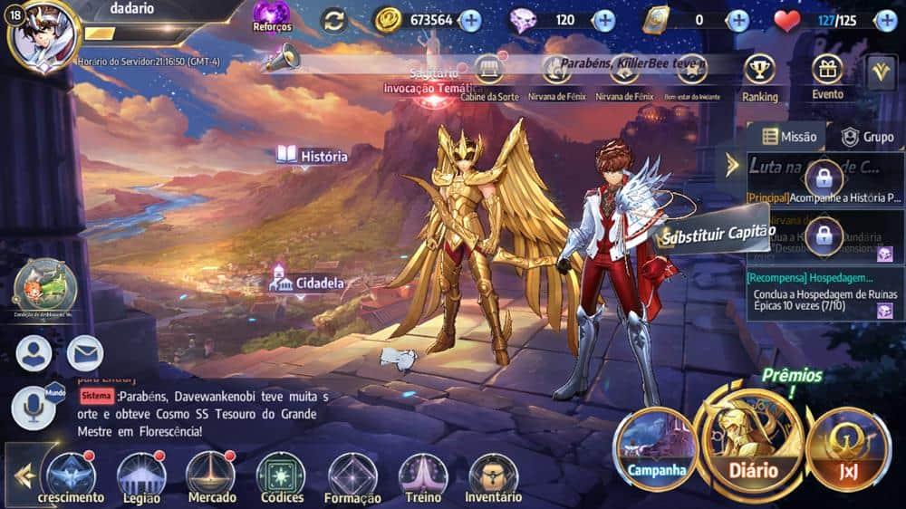como-mudar-personagem-saint-seiya-awakening-1 Como mudar o personagem principal em Saint Seiya Awakening