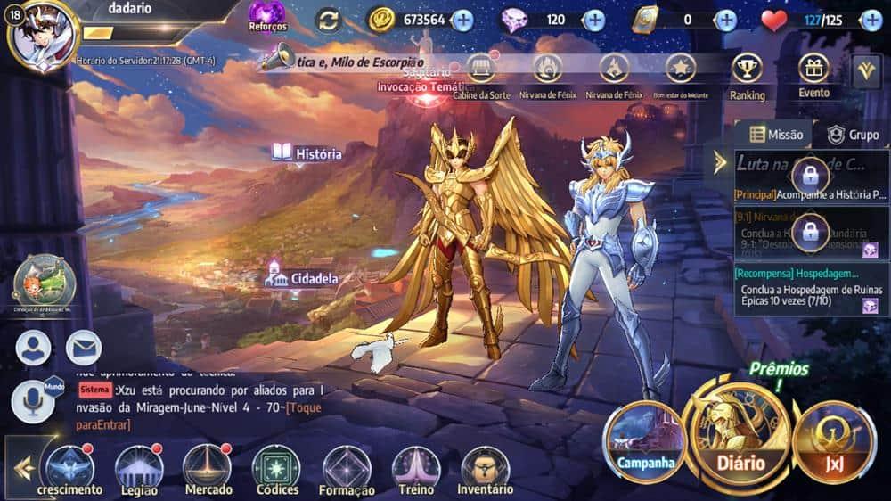 como-mudar-personagem-saint-seiya-awakening-2 Como mudar o personagem principal em Saint Seiya Awakening