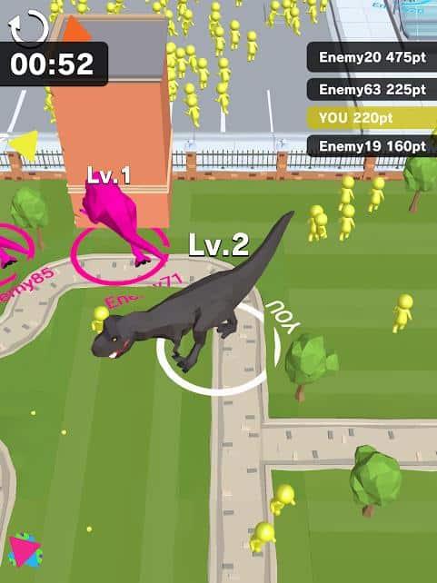 dinosaur-rampage-android-iphone Melhores Jogos para Celular da Semana (20-09-2019)