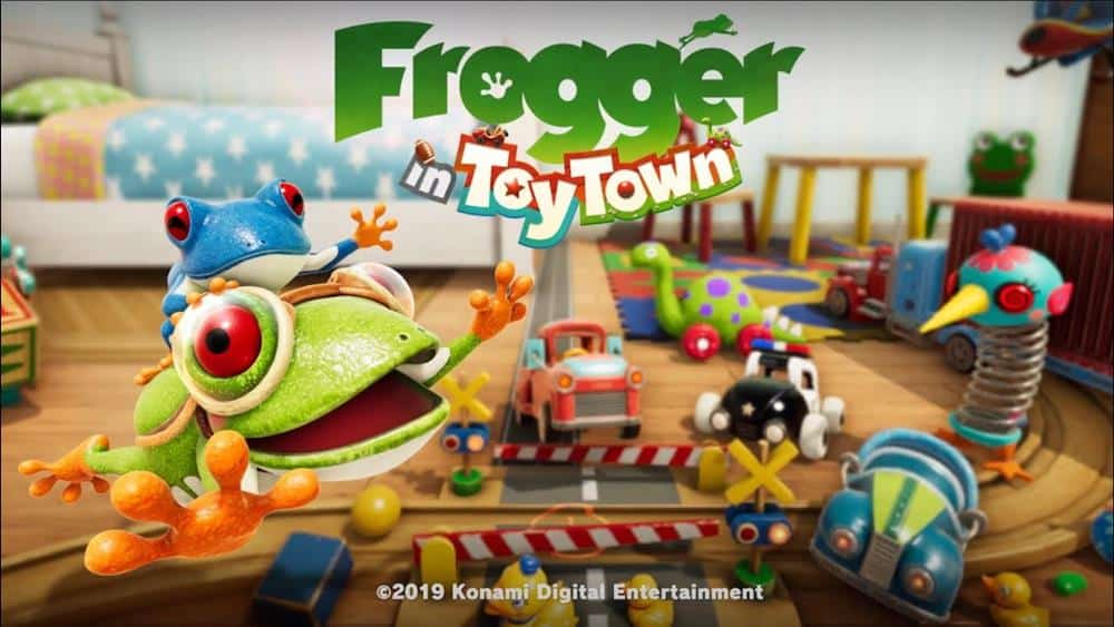 frogger-in-toy-town-iphone Frogger in Toy Town: Novo jogo da Konami para Apple Arcade