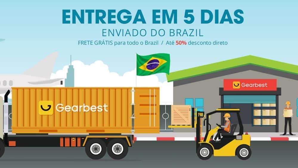 gearbest-armazem-no-brasil Gearbest inaugura armazém no Brasil, mas produtos decepcionam
