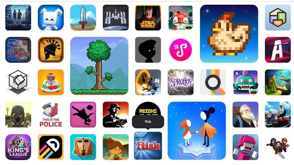 Todos os jogos disponíveis no Google Play Pass (EUA)