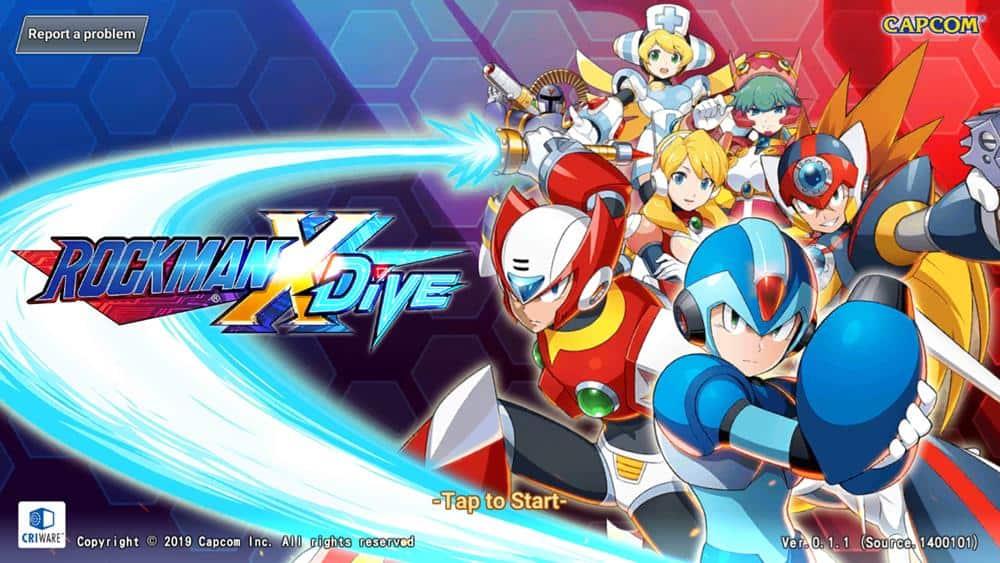 megaman-x-dive Mega Man X Dive é lançado na Google Play do Brasil (Acesso Antecipado)