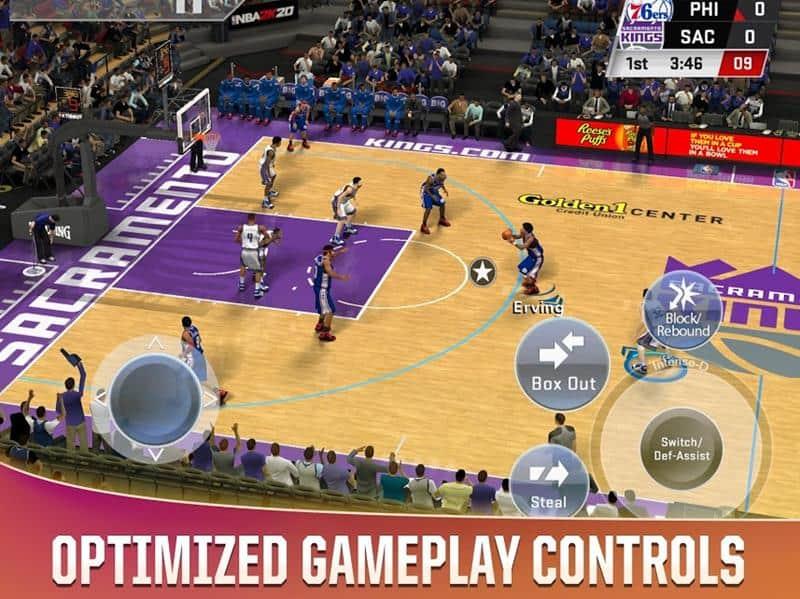 nba-2k20-ios-android-1 NBA 2K20: Jogo Pago chega ao Android e iOS