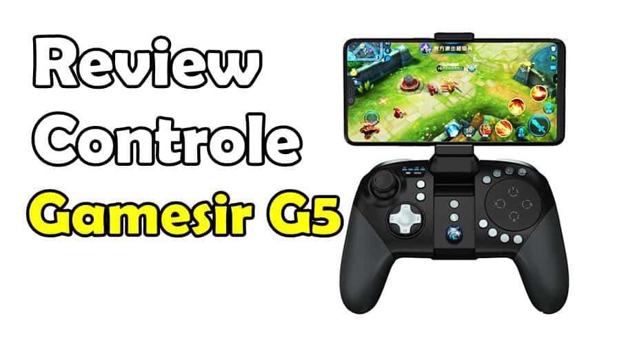 Review: Controle GameSir G5 para Android e iOS