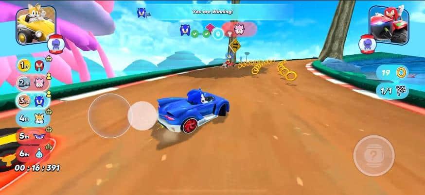 sonic-racing-ios-2 Sonic Racing chega acelerando no Apple Arcade