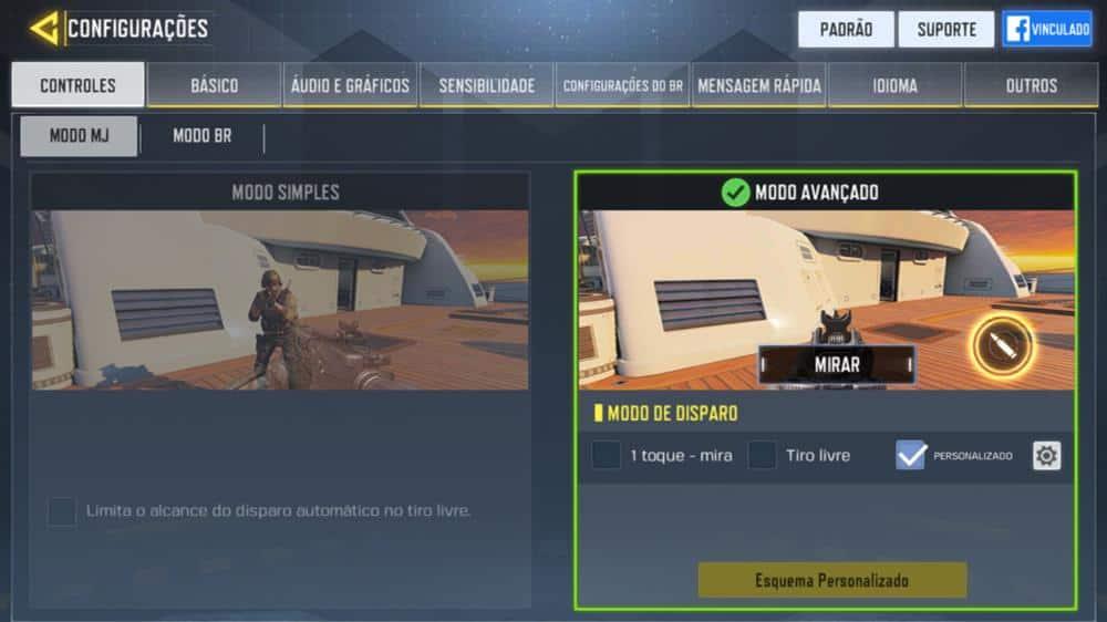 ajuste-mira-como-upar-rapido Dicas e o MELHOR MODO para SUBIR RÁPIDO no Call of Duty Mobile