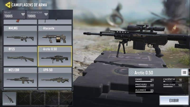 artic-50call-of-duty-mobile-14 Call of Duty Mobile: Guía completa de las mejores armas
