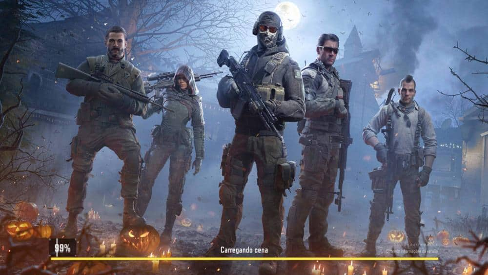 call-of-duty-mobile-halloween Call of Duty Mobile traz de volta mapa assombrado do Black Ops 2