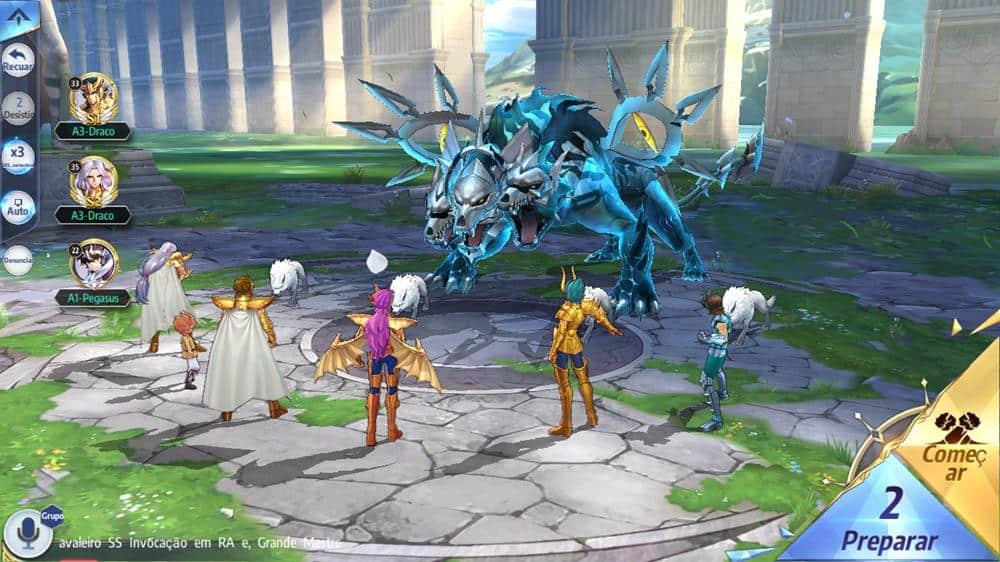 cerberus-saint-seiya-awakening Saint Seiya Awakening: Jogadores são banidos devido a um bug