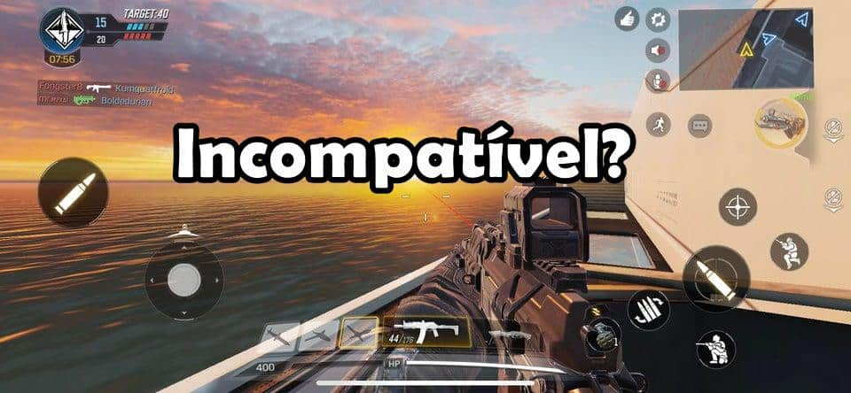 """cod-incompativel COD Mobile: entenda o erro """"Seu Dispositivo não é Compatível"""""""