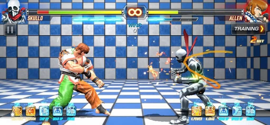 fighting-ex-layer-alpha-android_ios_003-1024x473 100 Melhores Jogos OFFLINE para iOS (de todos os tempos)