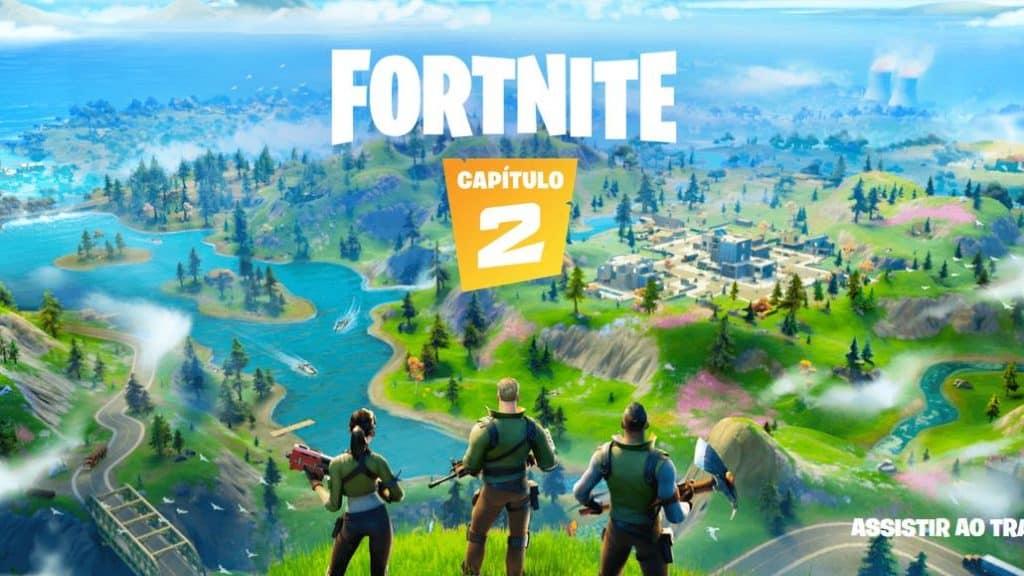 Fortnite Capítulo 2 chega aos celulares com novo mapa e muitas novidades