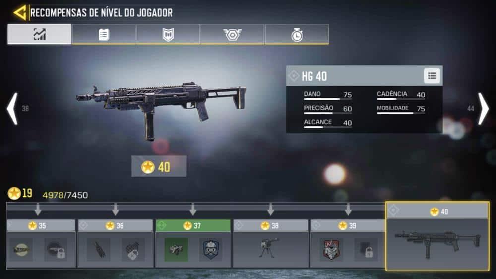 hg-40-cod-mobile Call of Duty Mobile: Guia Completo com as Melhores Armas