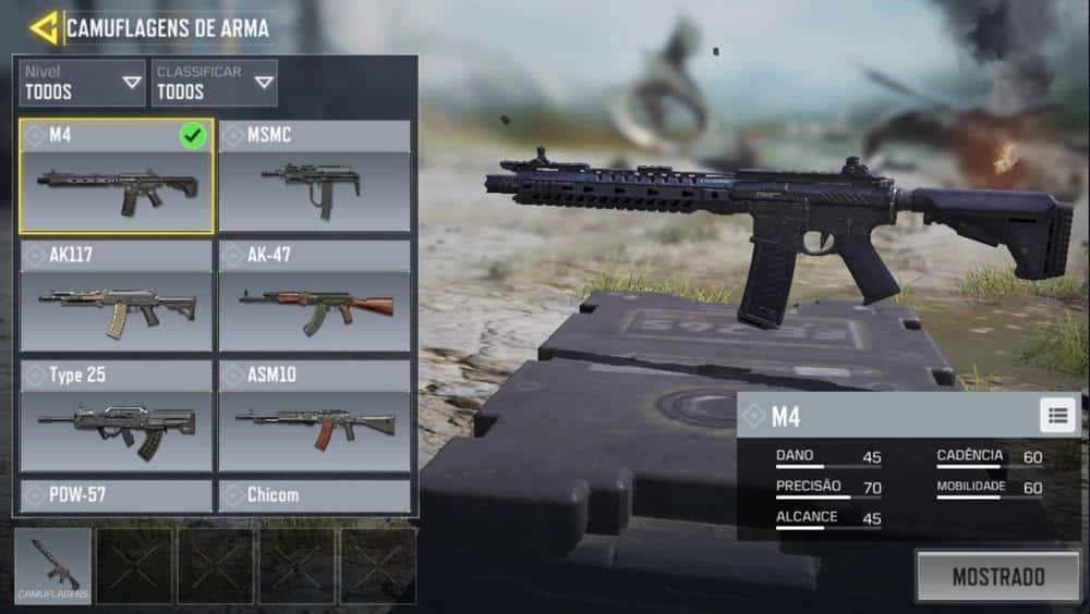 m4-call-of-duty-mobile Call of Duty Mobile: Guia Completo com as Melhores Armas
