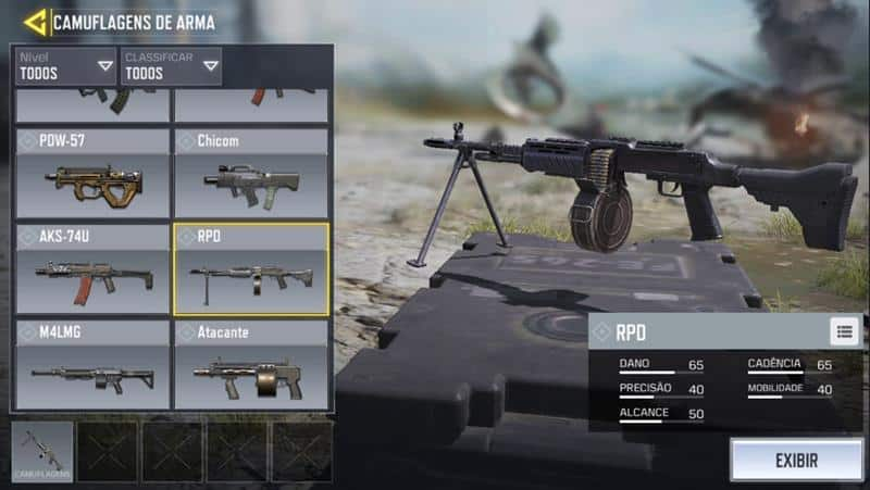 rpd-call-of-duty-mobile-10 Call of Duty Mobile: Guía completa de las mejores armas