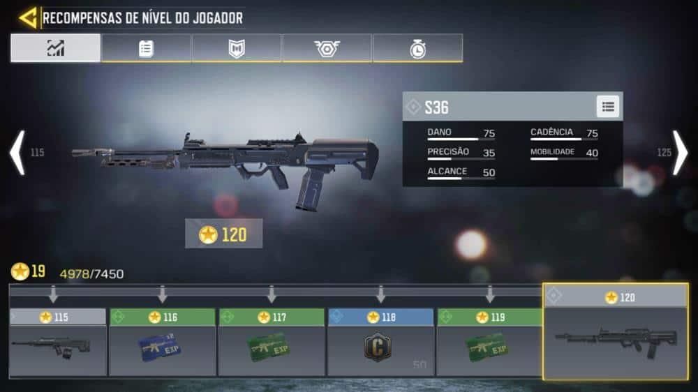 s36-call-of-duty-mobile Call of Duty Mobile: Guia Completo com as Melhores Armas