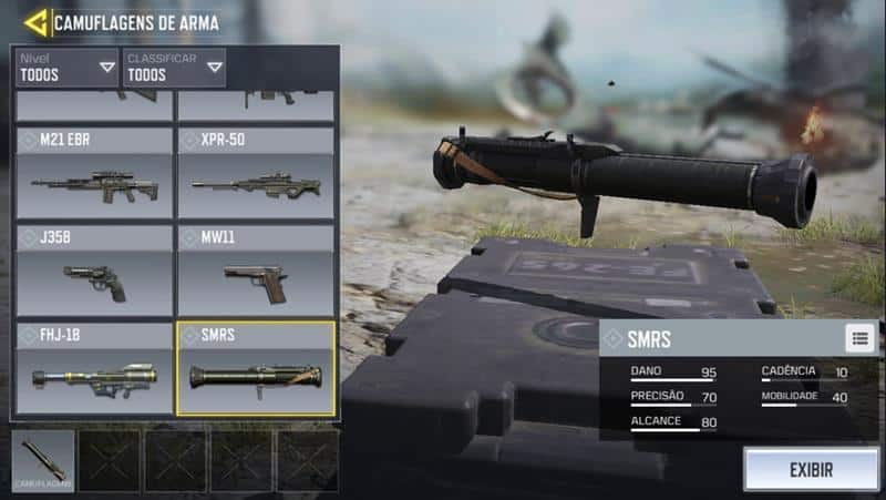 smrs-call-of-duty-mobile-20 Call of Duty Mobile: Guía completa de las mejores armas