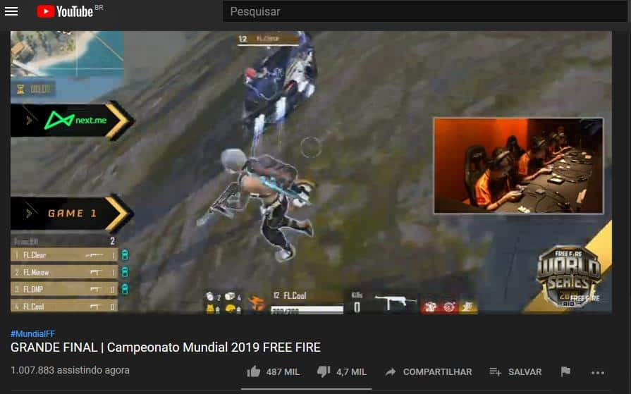 Captura-world-series-free-fire Free Fire World Series bate 1 milhão de espectadores e vale recompensas