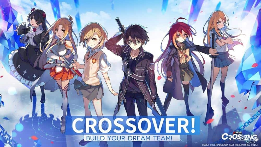 Crossing-Void Crossing Void: RPG traz personagens de Sword Art Online e outros animes