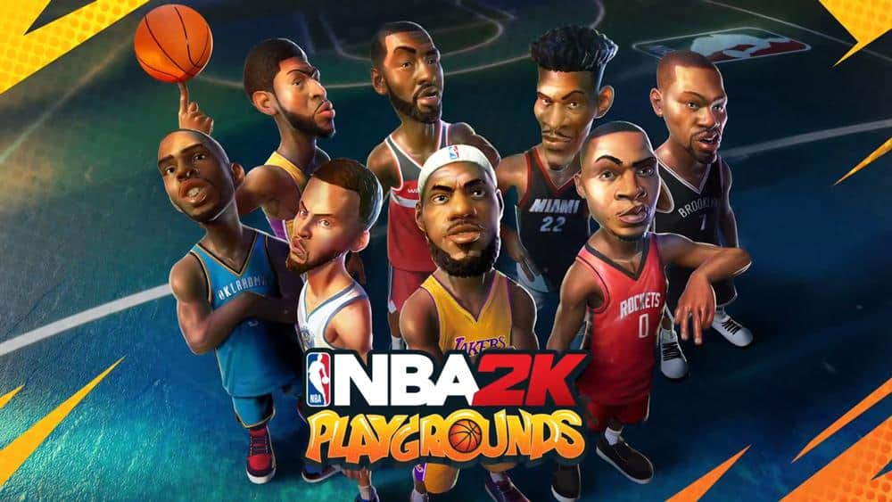 NBA-2K-Playgrounds NBA 2K Playgrounds em teste beta aberto (APK)