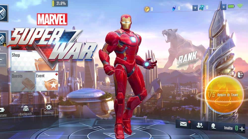 marvel-super-war-apk-android Novos Jogos Android e iOS (Pré-registro e Soft Launch APK)