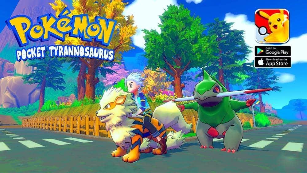 pokémon-Pocket-Tyrannosaurus-android-apk Estilo Pokémon: Pocket Tyrannosaurus – Android APK