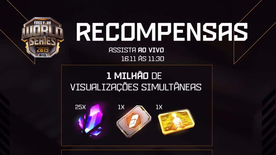 recompensas-jogadores-free-fire-world-series Free Fire World Series bate 1 milhão de espectadores e vale recompensas