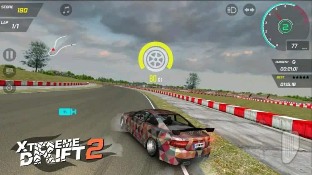 xtreme-drift-2-jogo-offline-para-android-1 35 Melhores Jogos Android Offline 2020