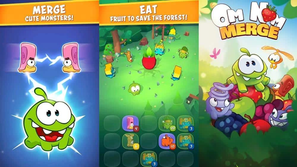 Om-Nom-Merge-android-ios Melhores Jogos para Android e iOS (8-12-2019)