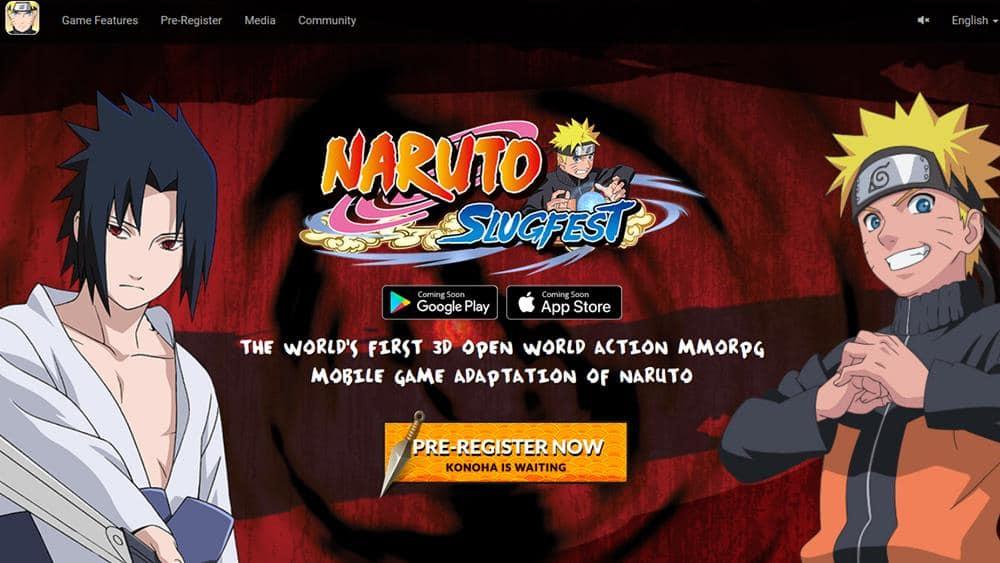 naruto-slugfest-3d-pre-registro Naruto Slugfest: MMORPG 3D para Celular está em Pré-registro