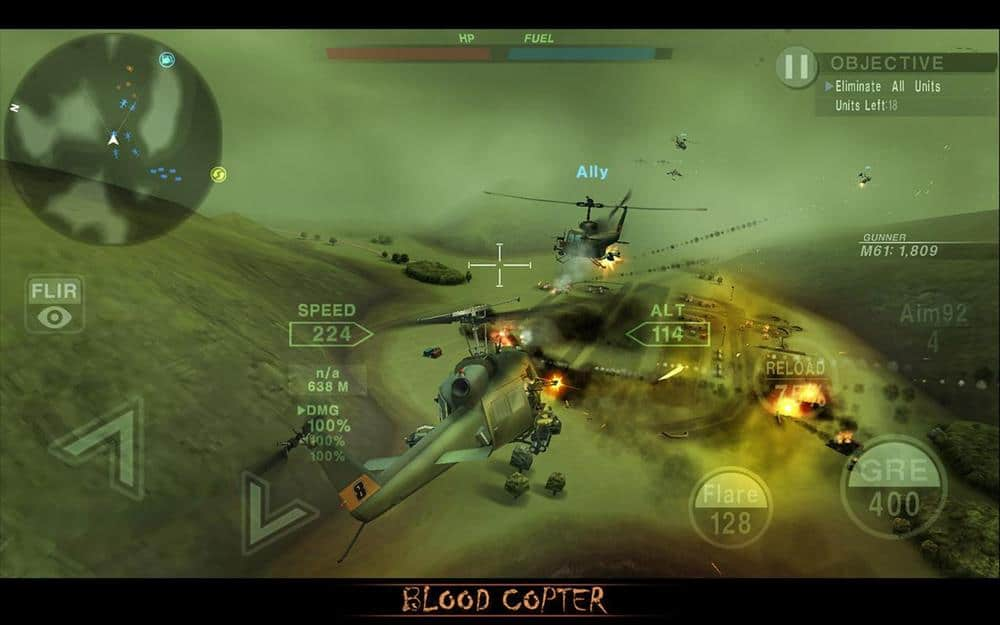 blood-copter-android 35 Melhores Jogos Android Offline 2020