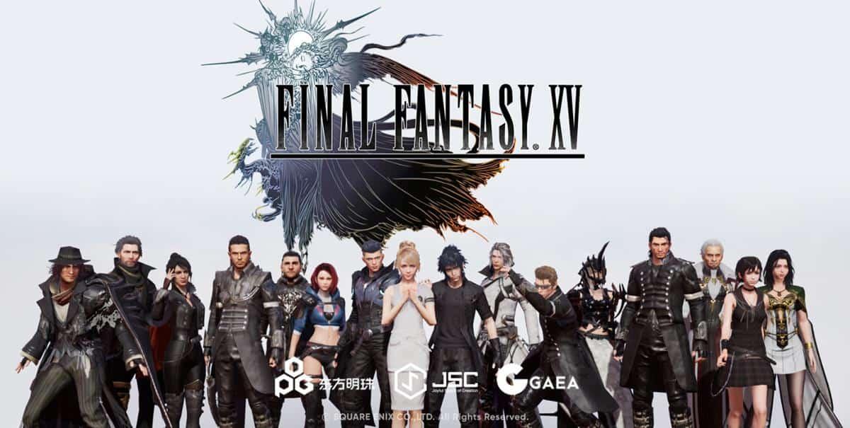 final-fantasy-xv-android-ios-novo-jogo-onliine Novo Jogo Online de Final Fantasy XV para Android e iOS