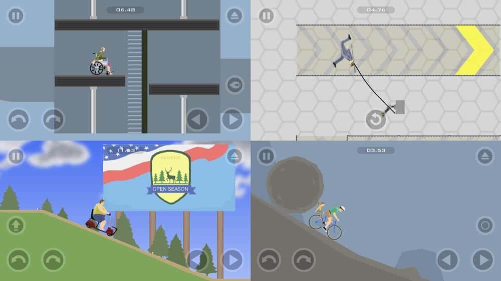 happy-wheels-ios-android-desafios Melhores Jogos para Android e iOS - Janeiro de 2020