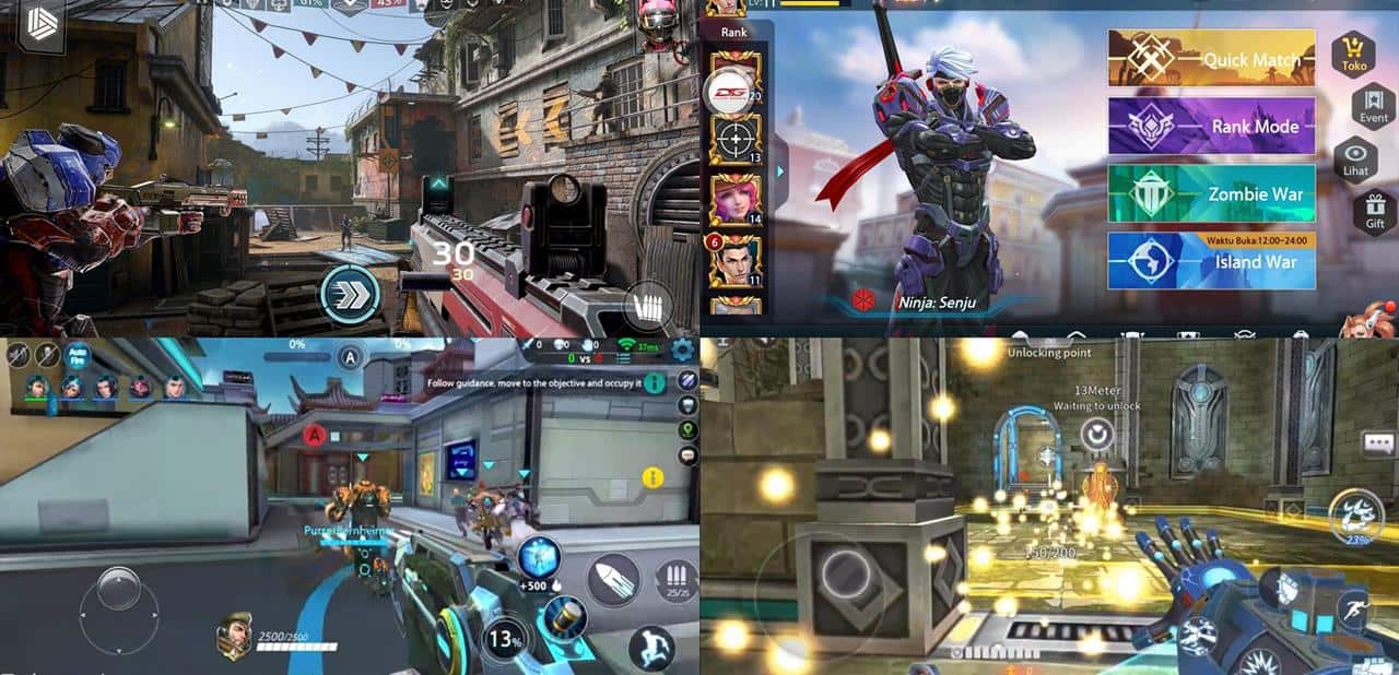 hero-shooters-android-ios Shadowgun War Games: a última chance dos Hero Shooters?