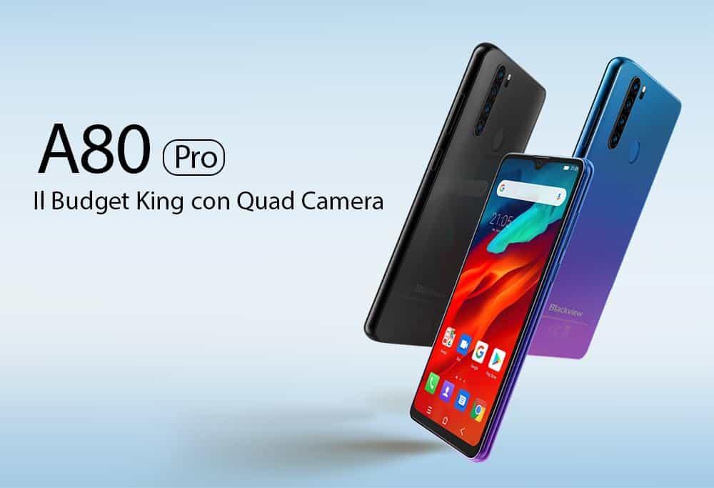 Blackview-A80-Pro Smartphones BARATOS para importar em 2020 (e não ser taxado)