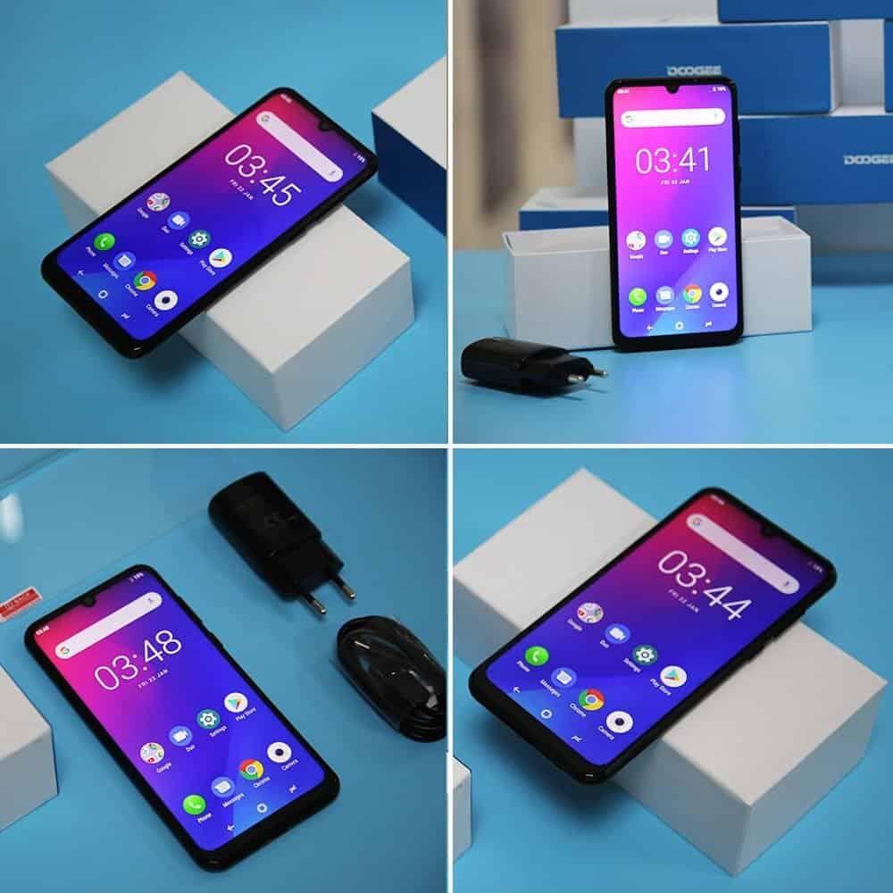 Doogee-N20 Smartphones BARATOS para importar em 2020 (e não ser taxado)