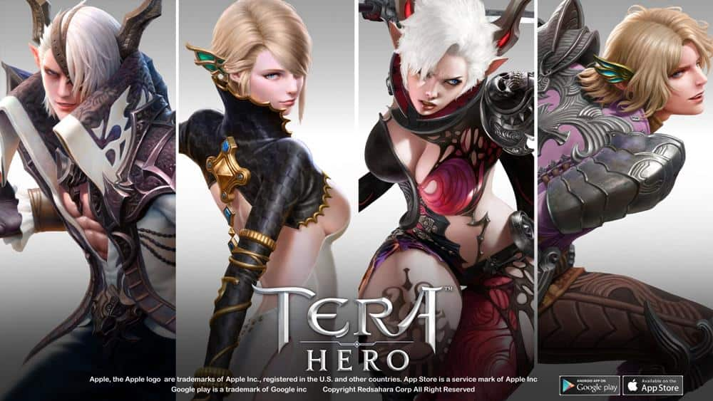 TERA-Hero-Playable-classes-1 Tera Hero: revelado o design dos 12 primeiros personagens