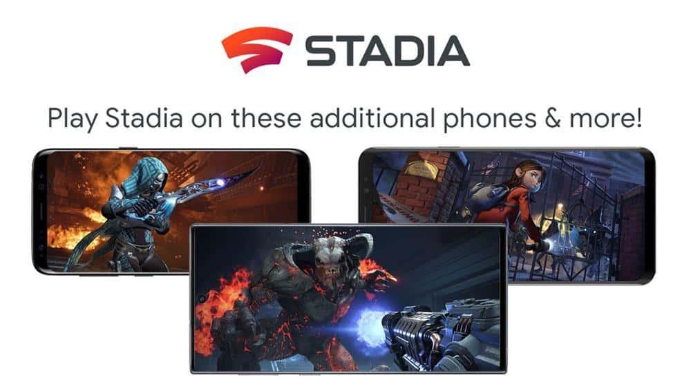 google-stadia-android Stadia: novos celulares compatíveis incluem Samsung, Razer e ASUS