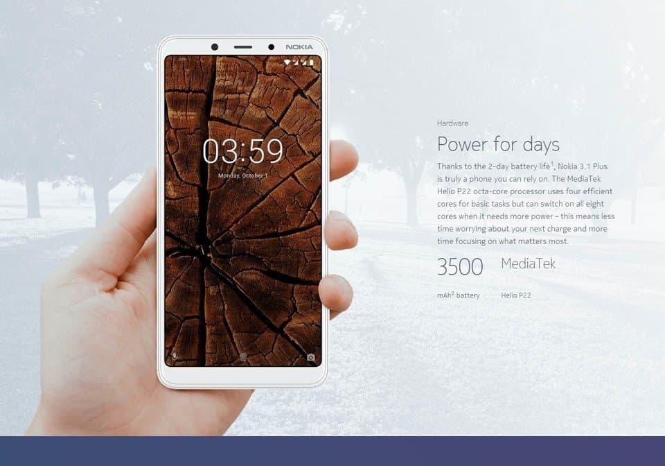 nokia-3.1-plus Smartphones BARATOS para importar em 2020 (e não ser taxado)