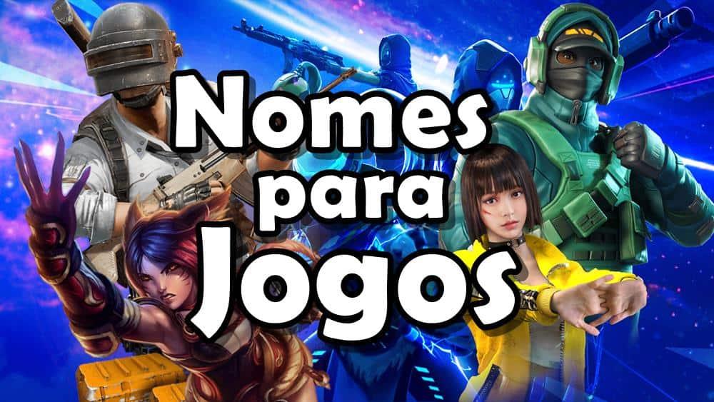 nomes-para-jogos-online ▷ 1200 Nomes Para Jogos Online (engraçados, legais, em inglês)