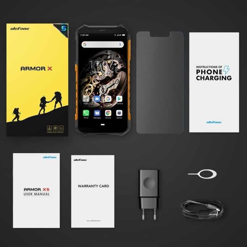 ulefone-armor-x5 Smartphones BARATOS para importar em 2020 (e não ser taxado)