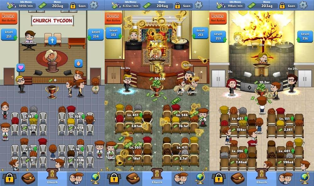 Church-Tycoon Melhores Jogos para Android e iOS - Março de 2020