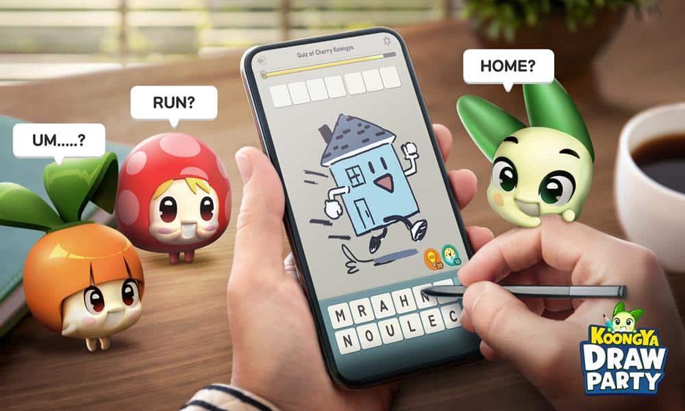 KOONGYA-Draw-Party-android-ios Koongya: novo jogo de desenhar da Netmarble