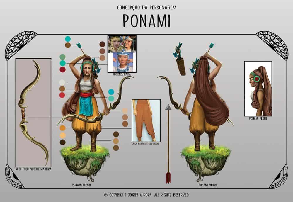character-concept-ponami-2 Ponami: jogo brasileiro para celulares ultrapassa meio milhão de downloads