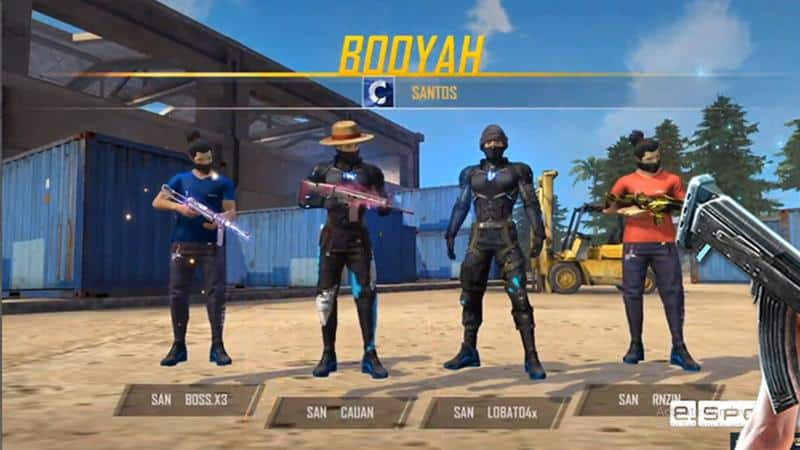exemplo-nome-time Free Fire: 800 Nomes de Guilda