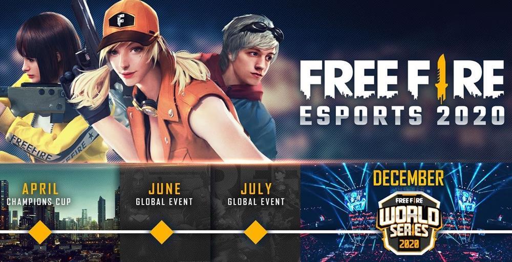 free-fire-eventos-2020-campeonatos Free Fire Champions Cup é adiado por conta do Coronavírus