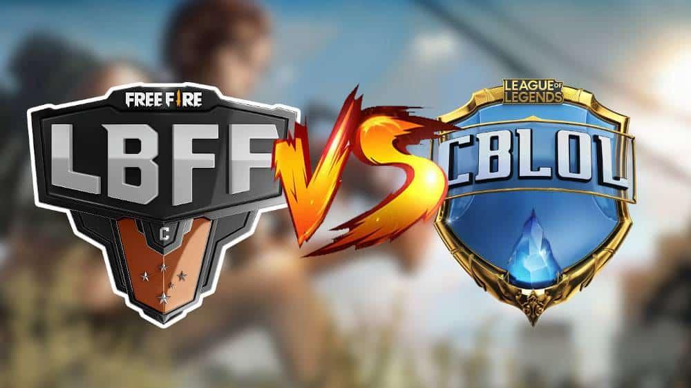 lbff-free-fire-vs-cblol Liga Brasileira de Free Fire tem recorde de audiência e supera CBLoL