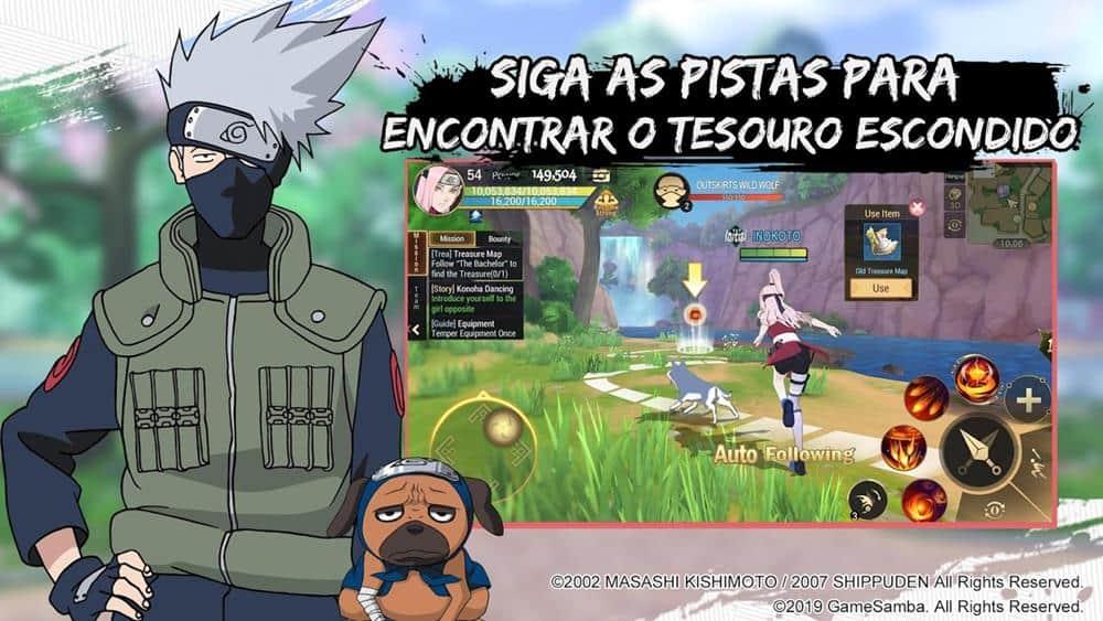 naruto-slugfest-android-ios-apk-pre-registro-lancamento-em-portugues Naruto Slugfest em pré-registro no Brasil (Google Play e App Store)